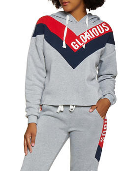 Glorious Graphic Pullover Sweatshirt - 3056051061540