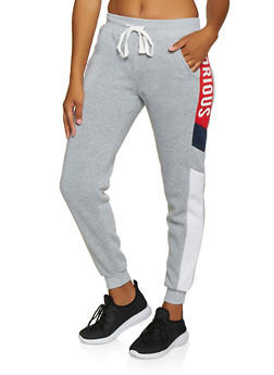 Glorious Graphic Joggers - 3056051061541