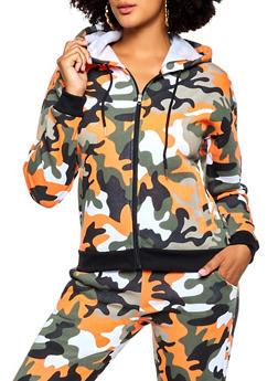 Good Vibes Camo Sweatshirt - 3056051062050