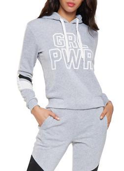 GRL PWR Graphic Sweatshirt - 3056051066134