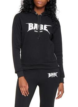 Babe World Tour Graphic Sweatshirt - 3056051066890