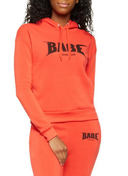 Babe World Tour Graphic Sweatshirt - 3056051066890