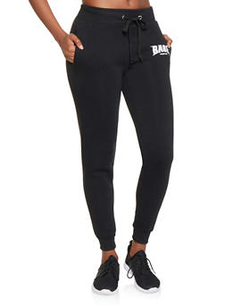 Babe World Tour Graphic Sweatpants - 3056051066891