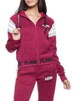 Flawless Hooded Zip Sweatshirt - 3056051067294