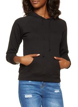 Long Sleeve Hooded Sweatshirt - 3056054260674