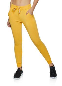 Fleece Lined Two Pocket Joggers - 3056063402071