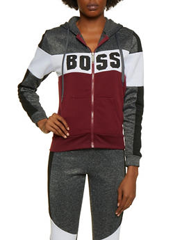 Boss Color Block Sweatshirt - 3056063402660