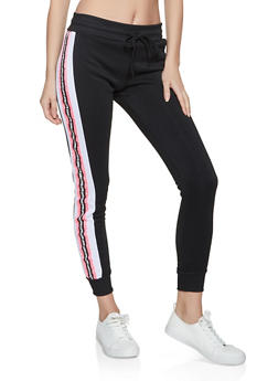 Love Tape Fleece Joggers - 3056063402721