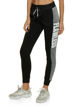 Flawless Striped Side Joggers - 3056063402771
