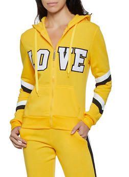 Love Zip Up Sweatshirt - 3056063404330