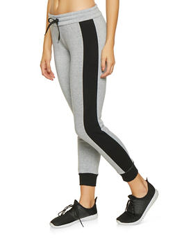 Color Block Sweatpants - 3056072291753