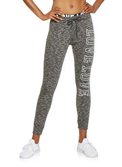 Marled Love Graphic Sweatpants - 3056072292411