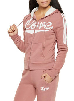 Love Graphic Sweatshirt - 3056072292530