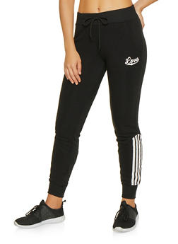 Striped Detail Sweatpants - 3056072292531