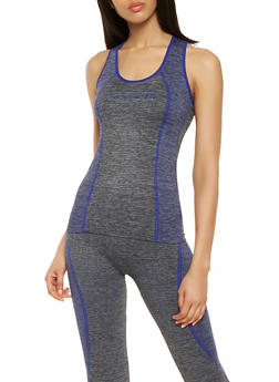 Love Graphic Seamless Tank Top - 3058038340020