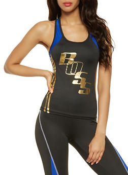 Boss Graphic Activewear Tank Top - 3058038345570