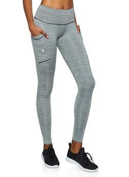Side Pocket Active Leggings - 3058038346071