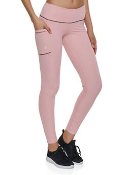 Side Pocket Active Leggings - 3058038346071