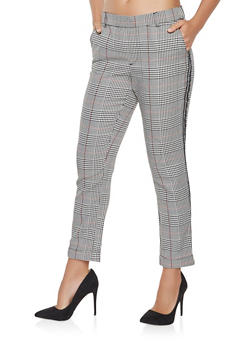 Plaid Dress Pants - 3061015990155