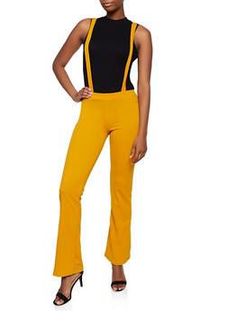 Solid Suspender Pants | 3061020622877 - 3061020622877