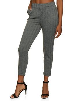 Herringbone Dress Pants - 3061054265287