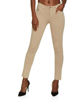 Push Up Ponte Skinny Pants - 3061054266941