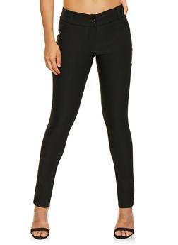 Solid Stretch Dress Pants - 3061062415816