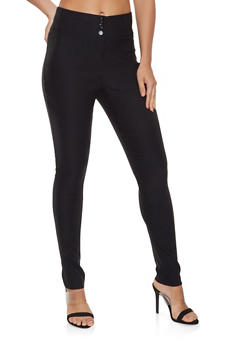 High Waisted Dress Pants - 3061062416076