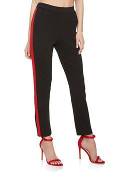 Side Stripe Dress Pants - 3061062416675