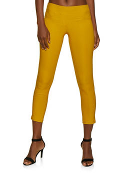 Stretch Solid Jeggings - 3061062416770