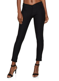 Solid Skinny Stretch Pants - 3061062416772