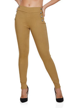 Hyperstretch Skinny Sailor Jeggings - 3061063409956