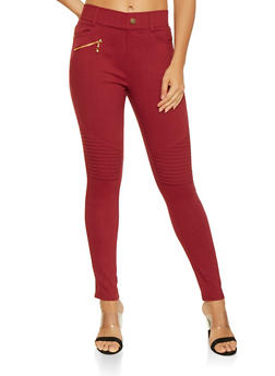 Hyperstretch Moto Jeggings - 3061072710047