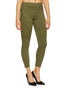 Hyperstretch Moto Jeggings - 3061072716775