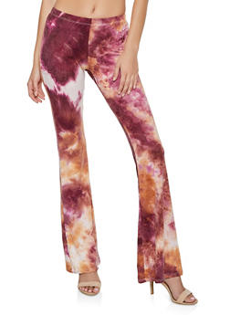 Flared Tie Dye Pants | 3061074015052 - 3061074015052