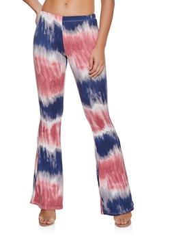 Flared Tie Dye Pants | 3061074015692 - 3061074015692