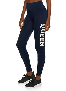 Queen Graphic Leggings - 3066061632184