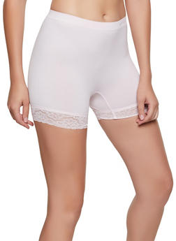 Lace Trim Bike Shorts | 3068035160711 - 3068035160711