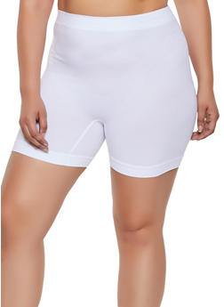 Plus Size Seamless Bike Shorts | 3068035160721 - 3068035160721