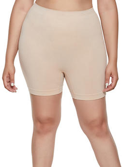 Plus Size Seamless Bike Shorts | 3068035160721 - 3068035160721