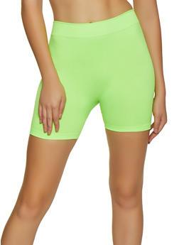 Neon Bike Shorts | 3068041453000 - 3068041453000