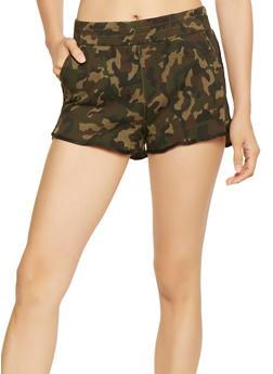 Camo Dolphin Shorts - 3070063156252
