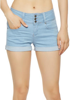 WAX 3 Button Push Up Shorts - 3070071610099