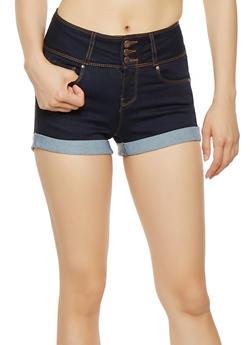 WAX 3 Button Push Up Shorts - 3070071610099
