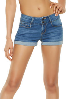 WAX Push Up Denim Shorts - 3070071610107