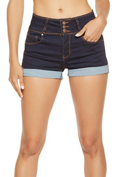 WAX Push Up Denim Shorts - 3070071610124