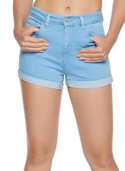 WAX Push Up Denim Shorts - 3070071610125