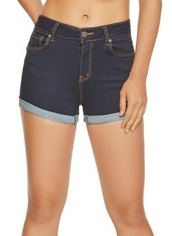 WAX Push Up Denim Shorts - 3070071610125