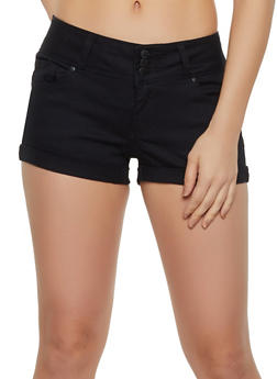 WAX 3 Button Push Up Shorts - 3070071610709