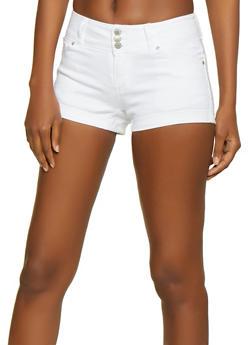 WAX 3 Button Push Up Shorts - 3070071610709